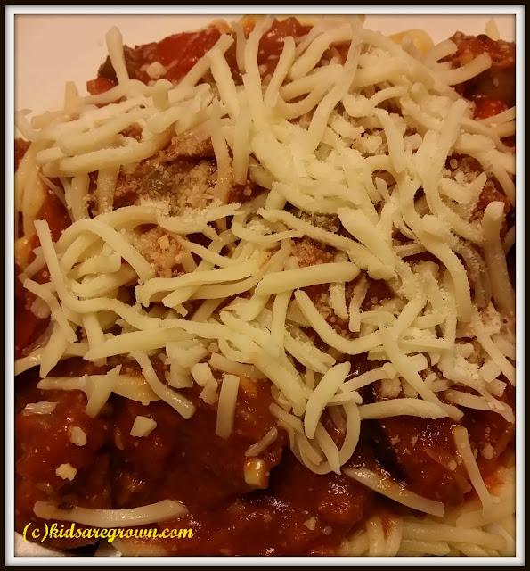 Sweet Italian Sausage Bolognese