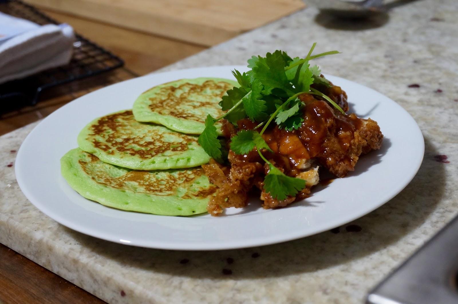 sortedfood pandan pancakes