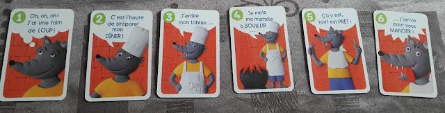 jeu de carte au loup grand petits enfant 3 4 ans facile ludique