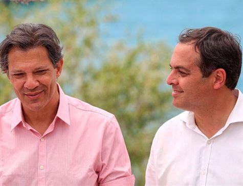 Haddad sobe em PE e desafio do PSB é colar ele em Paulo