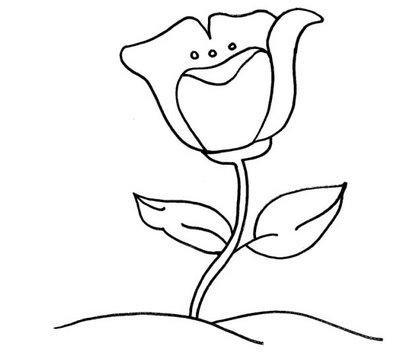 Imagens De Flores Faceis De Desenhar Mmod