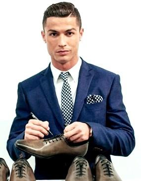Foto de Cristiano Ronaldo bien elegante