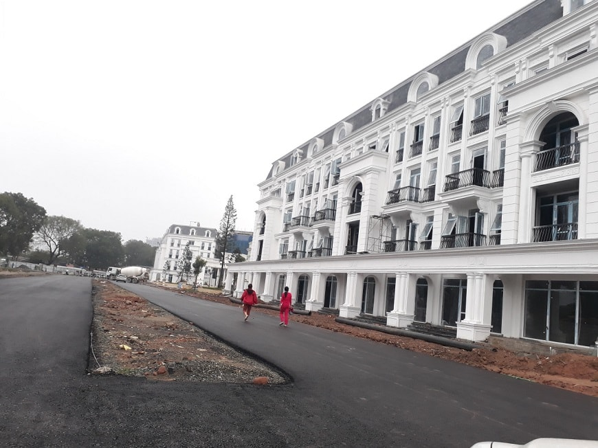 tiến độ xây dựng louis city
