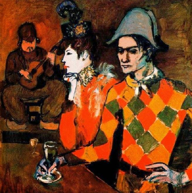 Pablo Picasso Au Lapin Agile