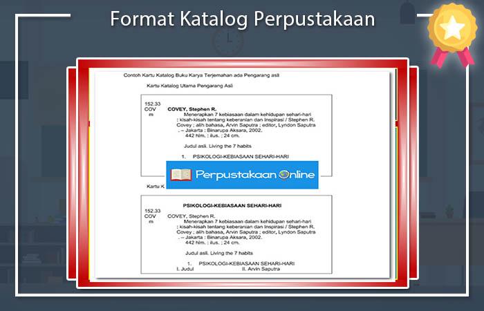 Format Katalog Perpustakaan