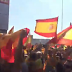 VÍDEO | Masivo rechazo en Zaragoza a la asamblea de Podemos en apoyo al separatismo catalán