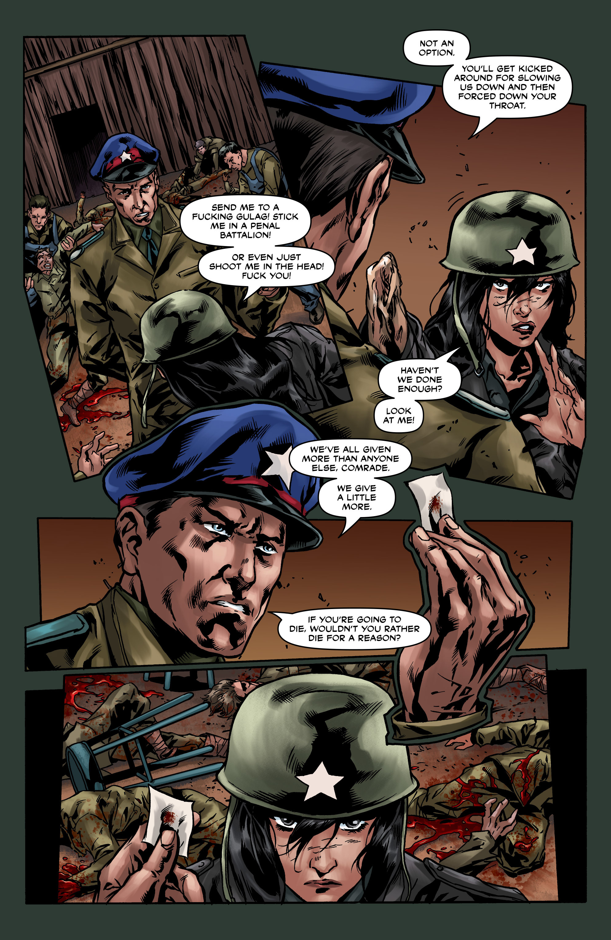 Read online Uber comic -  Issue #8 - 23