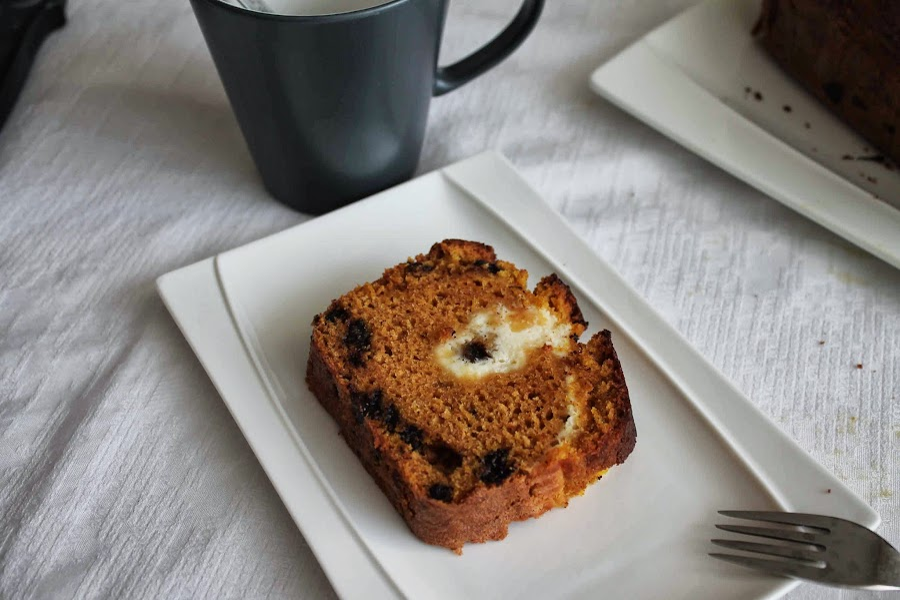 Pan dulce de calabaza_Bizcocho de calabaza_Cake de calabaza