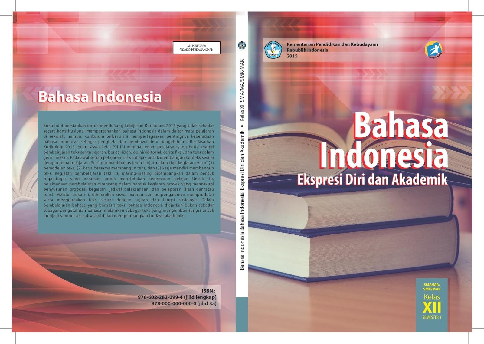 Tugas Bahasa Indonesia Kelas Xii Halaman 14 15 16 Buku Paket