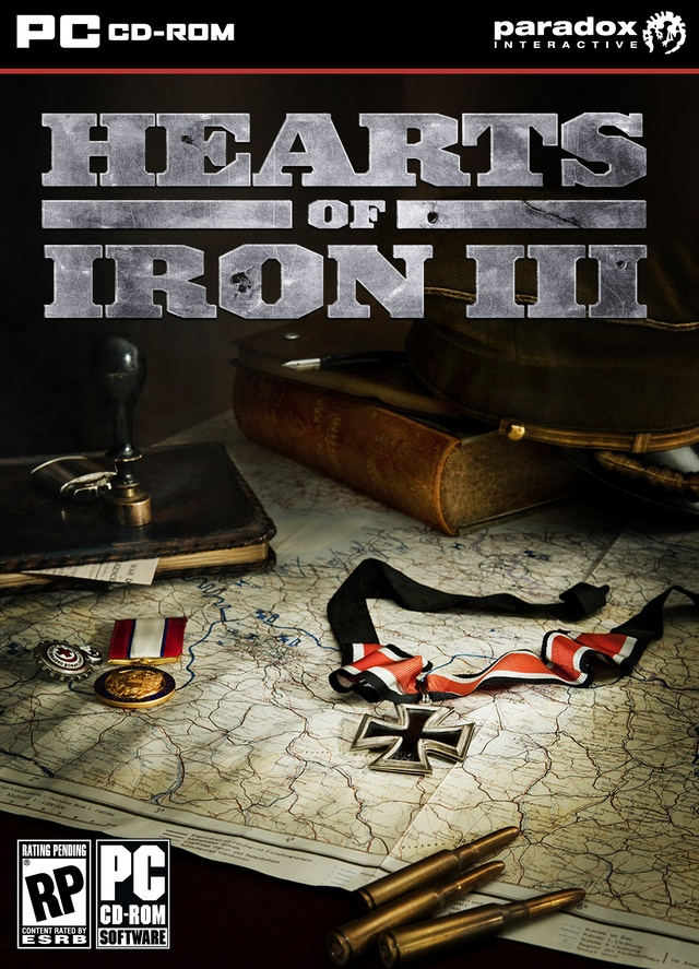103295 front - Hearts of Iron III + DLC Collection