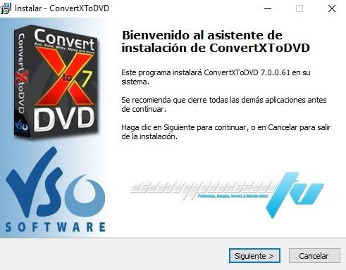 VSO ConvertXtoDVD (2018) Español Versión Full 7.0.0.61