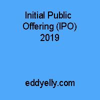 Initial Public Offering (IPO) 2019