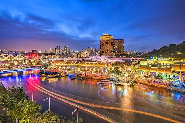 Clarke Quay, Tempat Wisata di Singapura : tempatwisata.biz.id