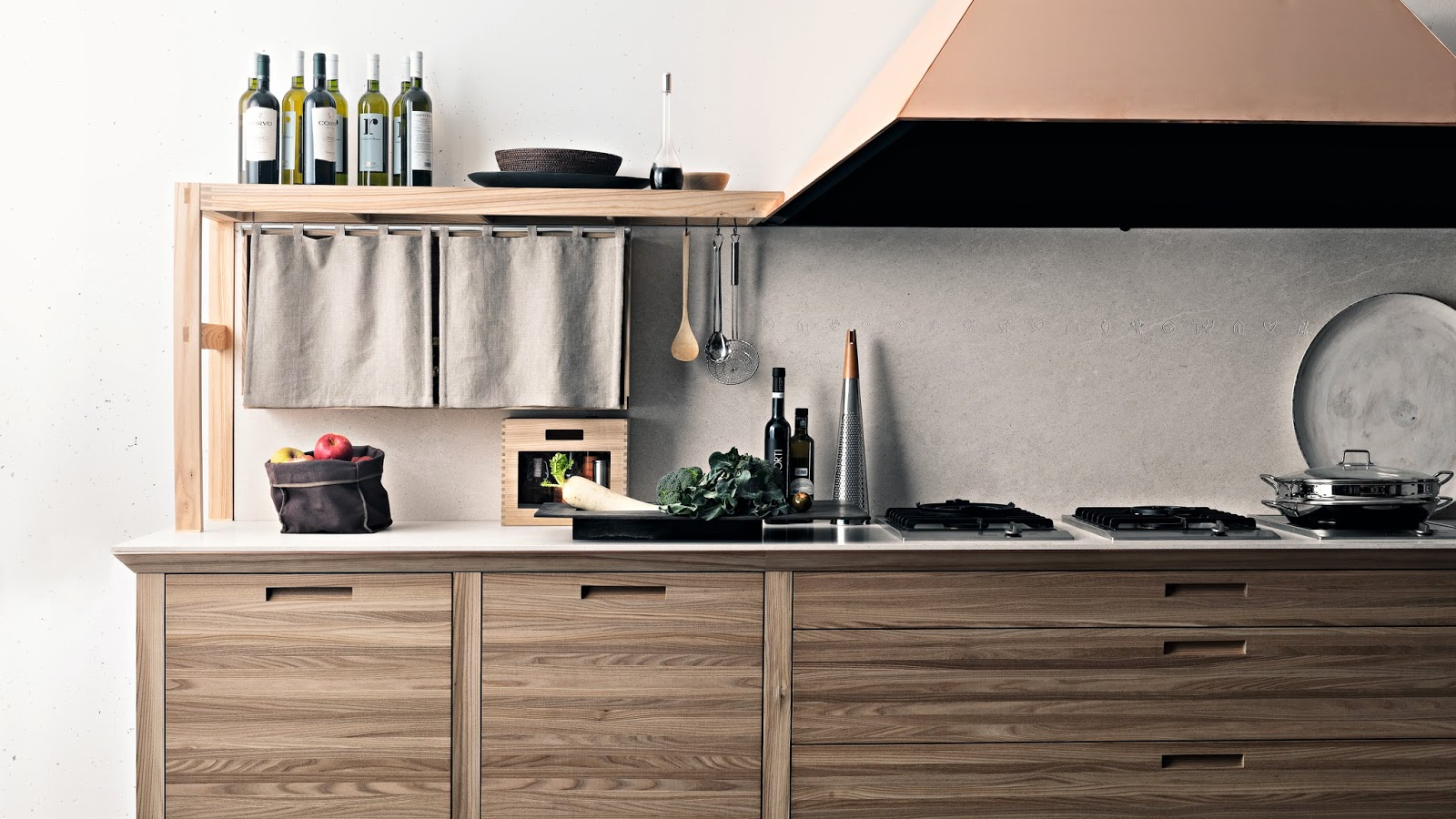 Houses Gardens People 3 Cool Modern Kitchens