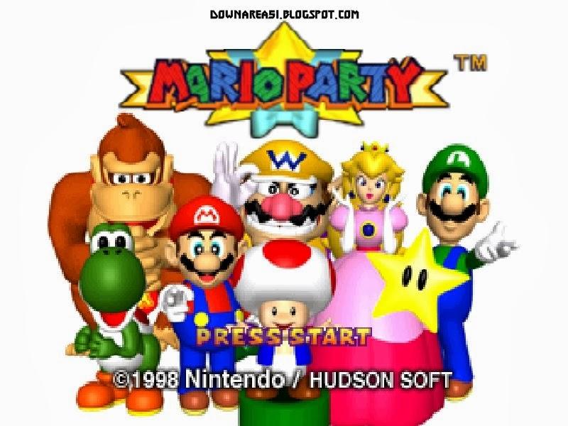 Mario Party Nintedo 64