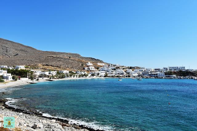 Karavostasis, isla de Folegandros (Grecia)