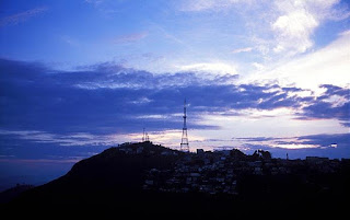 Kurseong Town with TV Tower