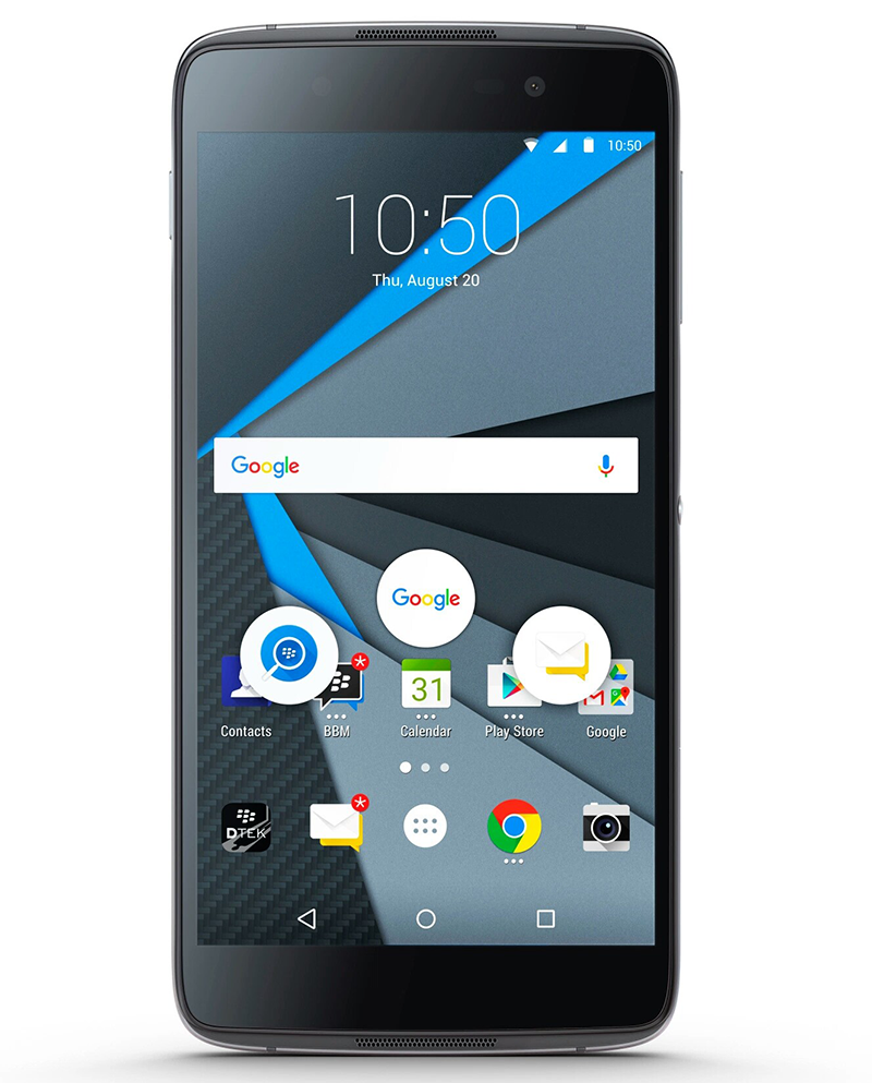 Blackberry DTEK50 Now Official, A Super Secured Android Phone?