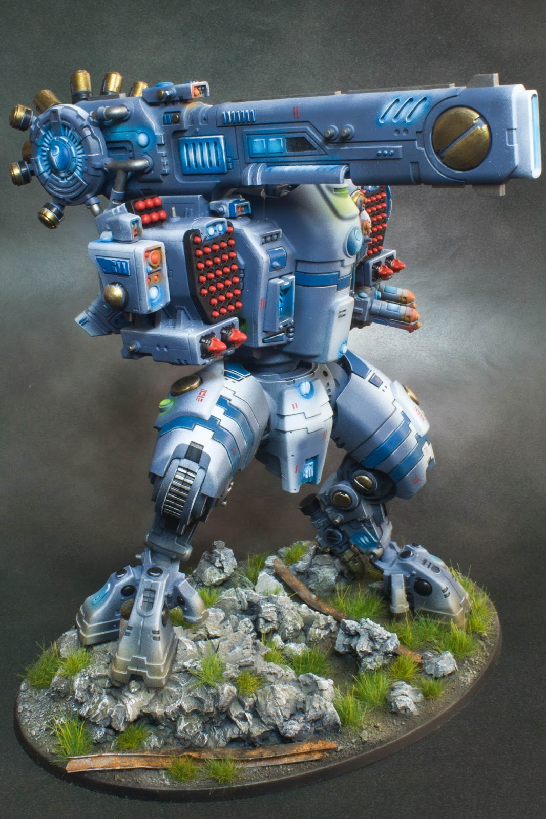 Paint-Forge: Tau Stormsurge finished