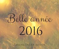 Un belle année 2016 tout en étincelles - Sandra Dulier.