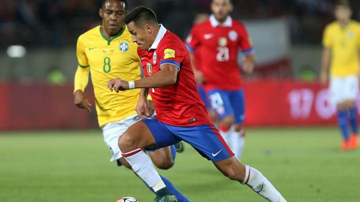 Brasil vs Chile EN VIVO por las Clasificatorias
