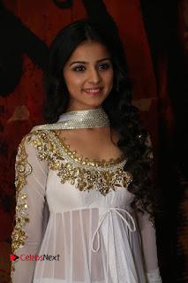 Telugu Actress Mahima Makwana Stills in White Desginer Dress at Venkatapuram Movie Logo Launch  0001.JPG