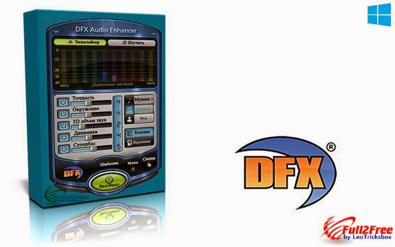 DFX Audio Enhancer 11.200 + Crack