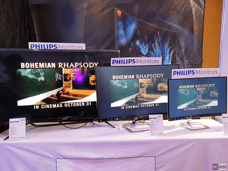 New Philips monitors in PH
