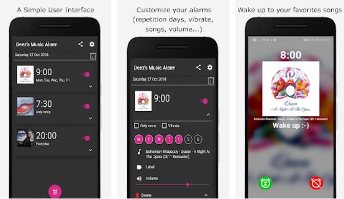 HIGHTECHHOLIC: Lifestyle App of the Week - Deez Alarm Clock for