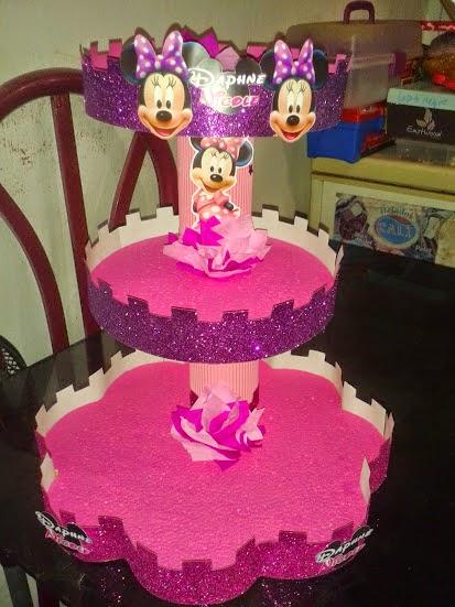Como De Minnie Centro Un Mesa Hacer Mouse De