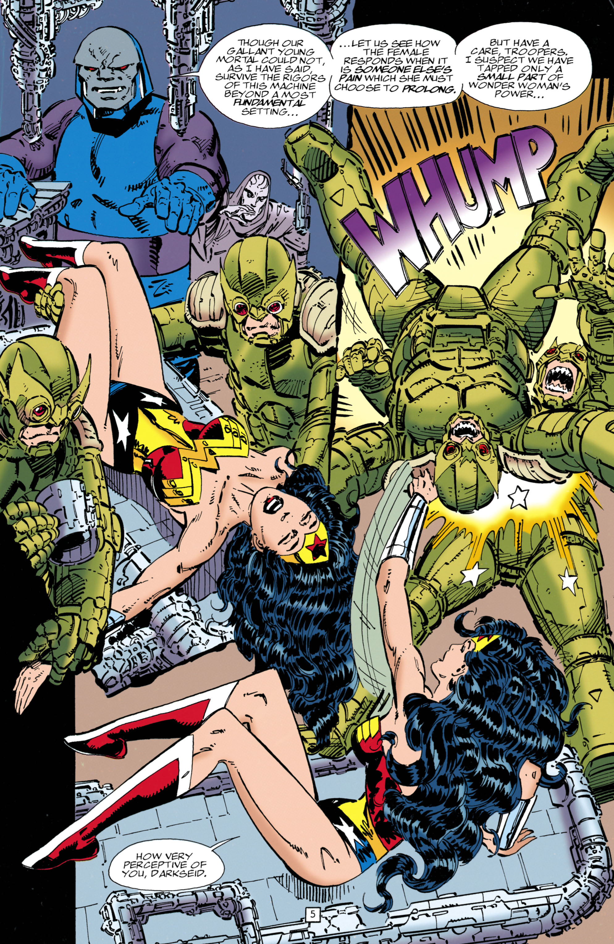 Read online Wonder Woman (1987) comic -  Issue #102 - 5