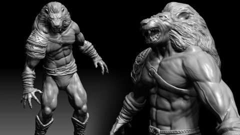 3D Character Creation: Sculpting in Zbrush Free Download Course