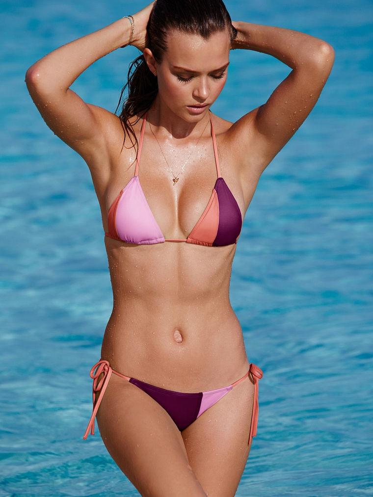 aa22e160cbf4b Josephine Skriver strips to swim looks for Victoria's Secret July 2015  Lookbook