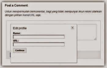 Manfaat Memasang Komentar Name/URL Pada Blog