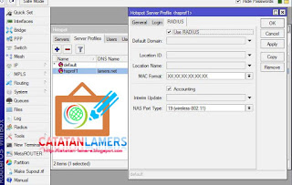 Setting External Usermanager Menggunakan 2 Buah Router Mikrotik
