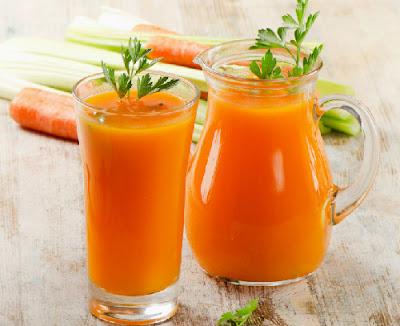 Dáng đẹp, eo thon nhờ sinh tố cà rốt