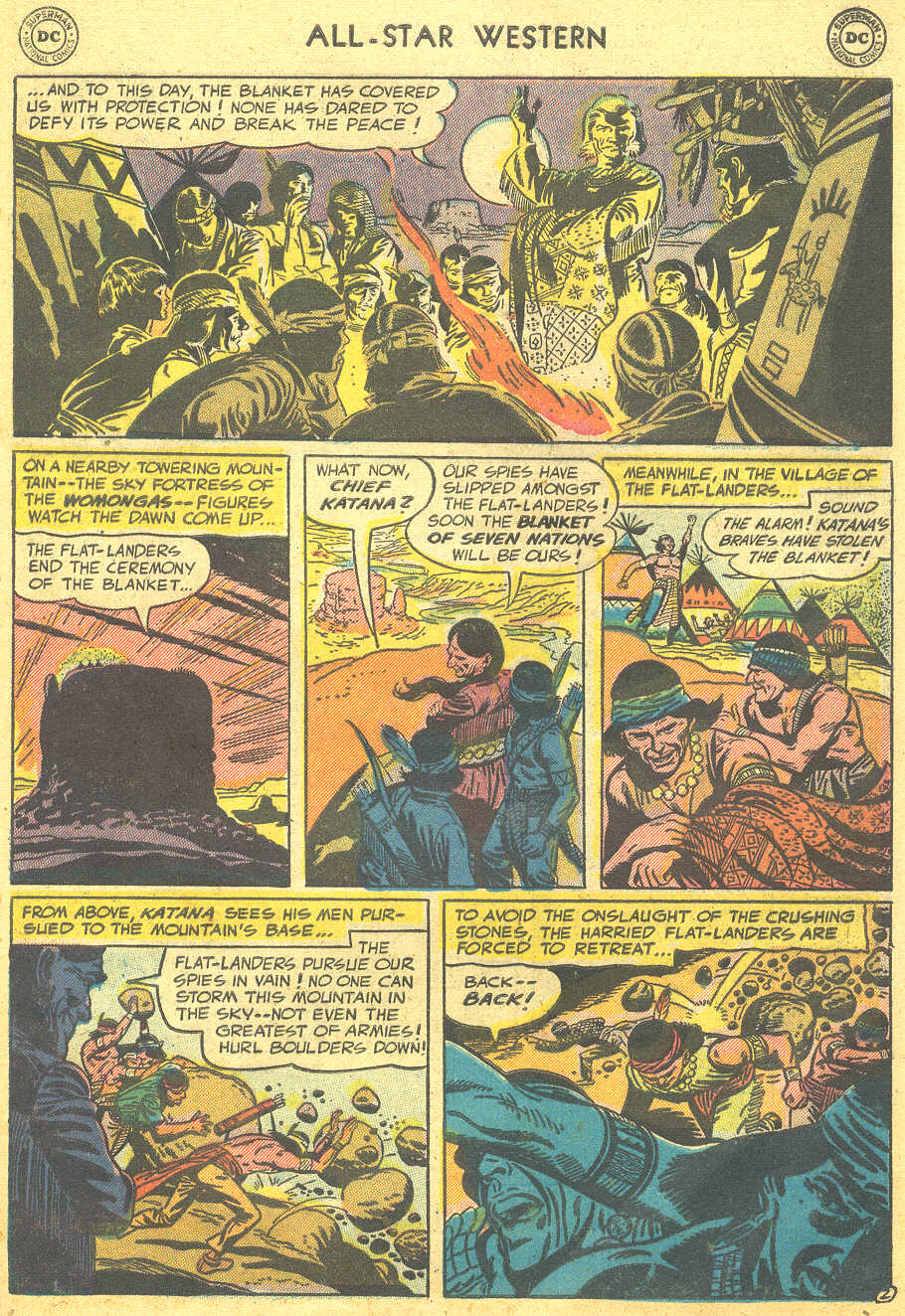 Read online All-Star Western (1951) comic -  Issue #88 - 29