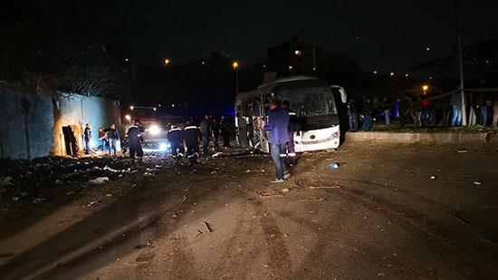 انباء عن حادث سير للاهلى بعد مباراة الجونة