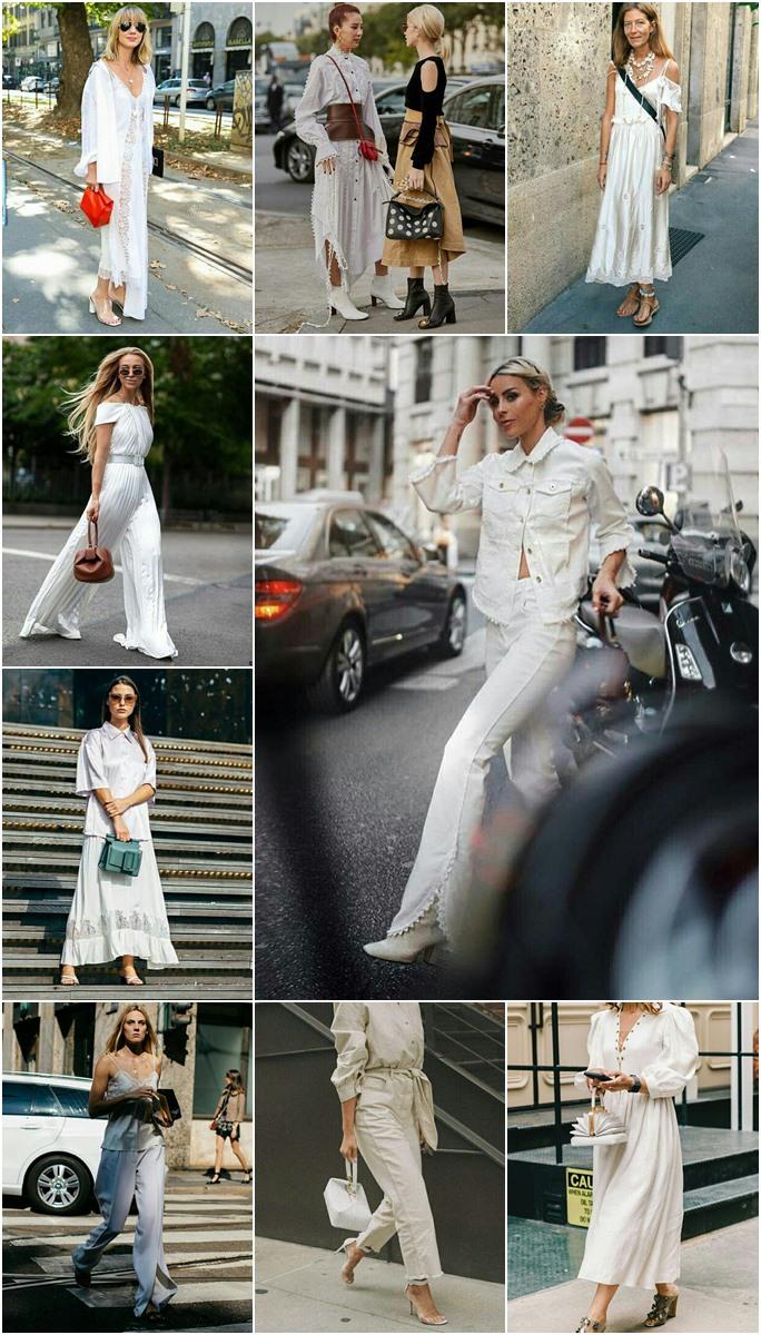 Looks brancos descolados para serem usados na primavera e verão