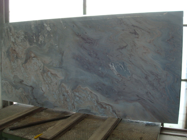 Pallisandro Blue Nuvolato Marble Granite