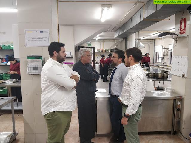 Antona destaca la calidad formativa del centro de formación profesional Virgen de Las Nieves