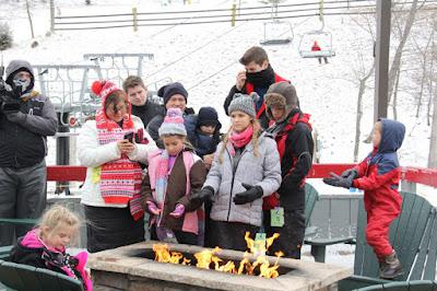 Bates family ski trip