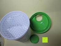 Shaker geöffnet: Lineavi Vitalkost – Der gesunde Diät Shake für Ihr Abnehmprogramm + Shaker, 500g (Starterpaket)