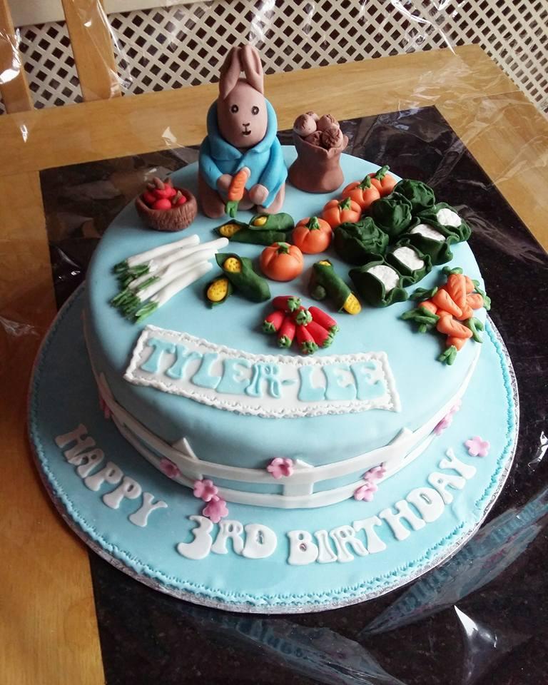 A Peter Rabbit Birthday Cake Dolly Dowsie