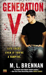 Guest Blog by M. L. Brennan, author of Generation V  - The Weaker Protagonist - April 9, 2013