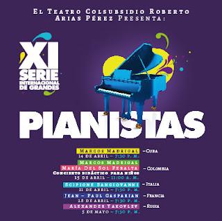 11ª Serie Internacional de Grandes Pianistas 2018
