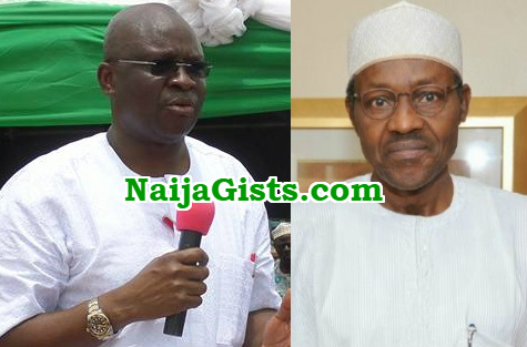 fayose buhari birthday wishes