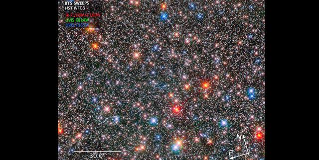 hubble probes the archeology of our milky way s ancient hub