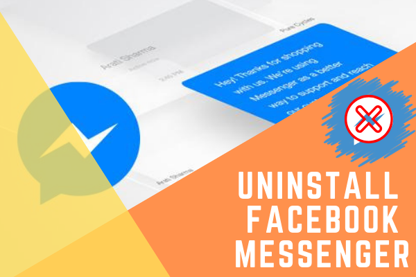 How To Uninstall Messenger On Facebook<br/>