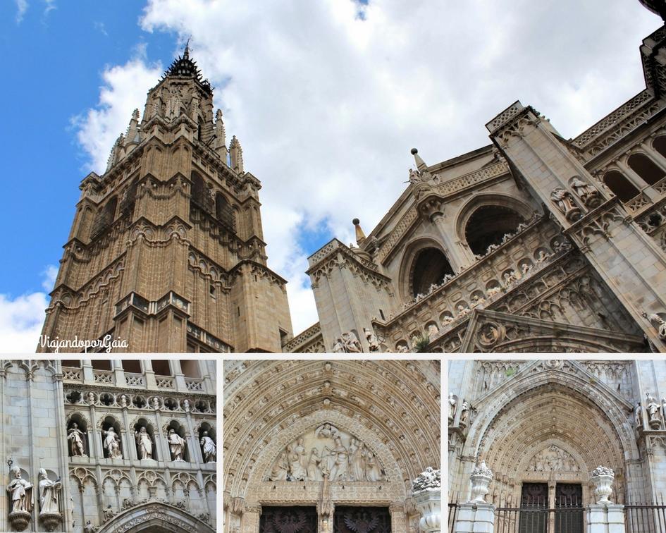 La Catedral de Toledo fue construida entre los años 1226 y 1493 por los maestros Martín y Petrus Petri.